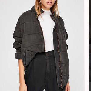 Free People Doleman Quilted Jacket